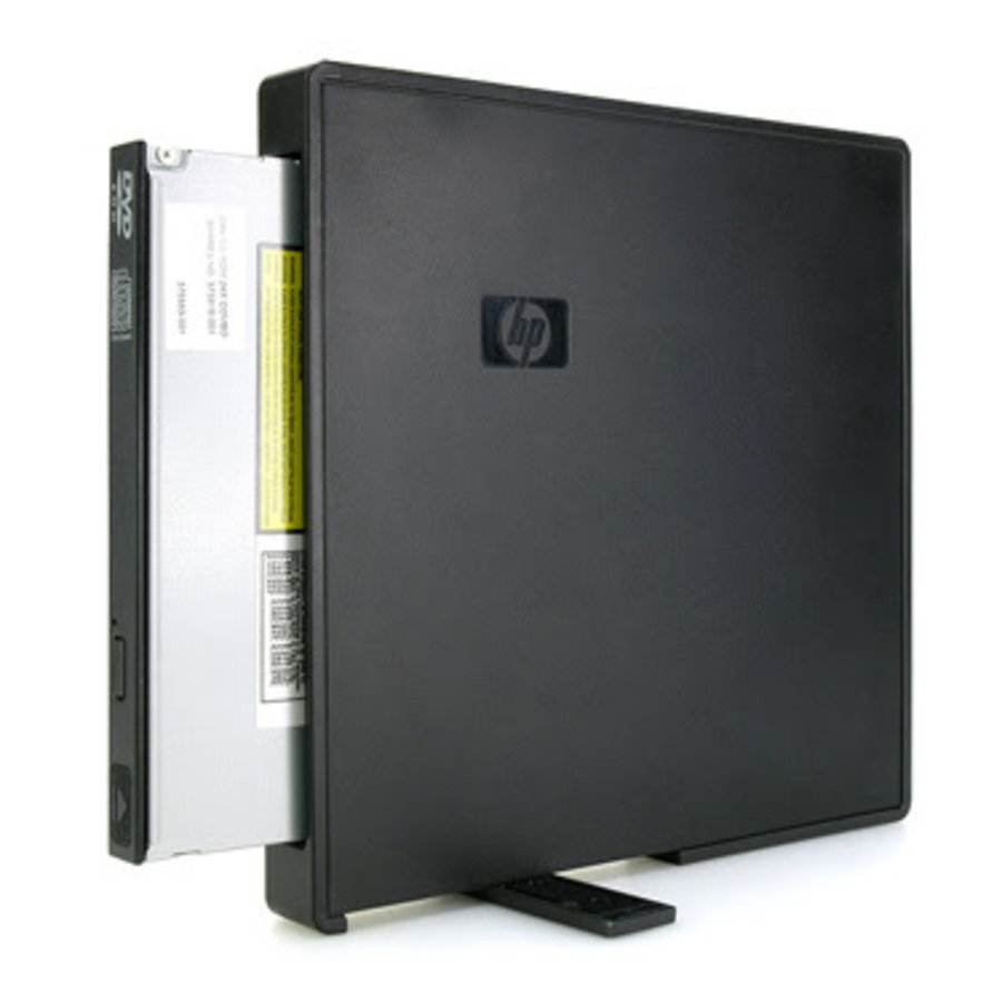 HP PA509A external usb DVD Drive inclusief power adapter-1