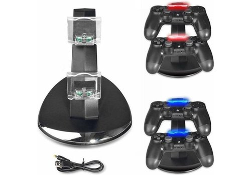 Oplaadstation Controller Dock Charger | PS4 - PS4 Slim - PS4 Pro