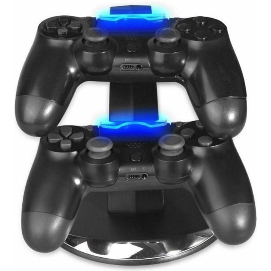 Oplaadstation Controller Dock Charger | PS4 - PS4 Slim - PS4 Pro | Dubbel Laadstation PS4 Controllers-2