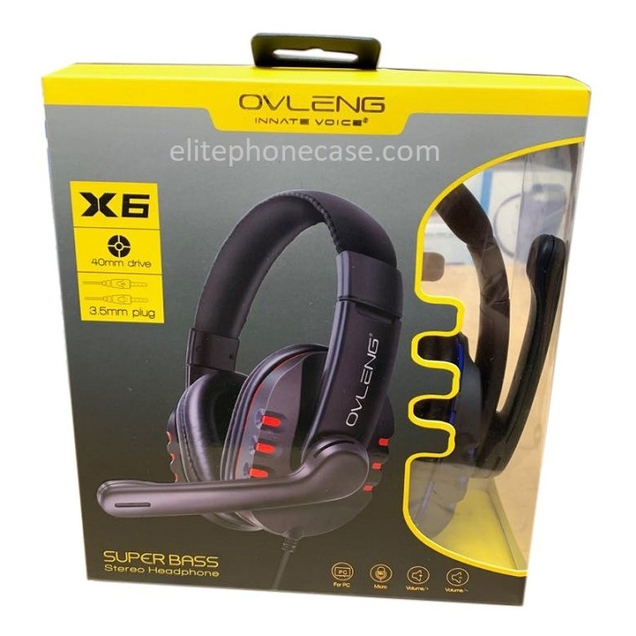 Headset Gaming Ovleng X6 Stereo-2