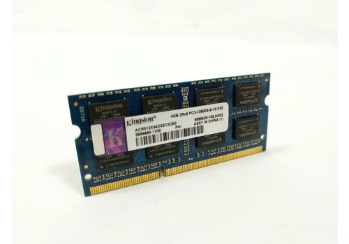 Kingston 4GB | DDR3 | SODIMM | PC3-10600S | 1333MHz