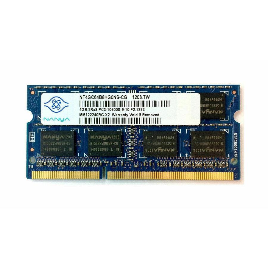 Nanya 4GB | DDR3 | SODIMM | PC3-10600 | 1333MHz-1