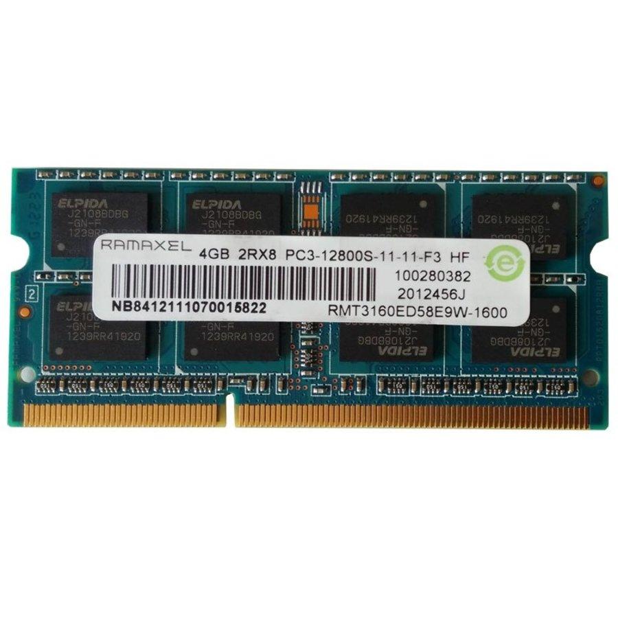 Ramaxel 4GB | DDR3 | SODIMM | PC3-12800S | 1600MHz-1