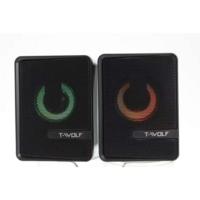 thumb-T-WOLF S3 speakers   2.0   6W   USB   3.5mm-1