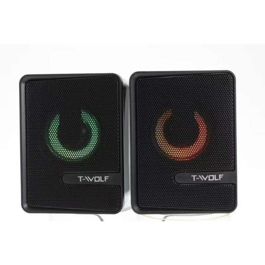 T-WOLF S3 speakers   2.0   6W   USB   3.5mm-1