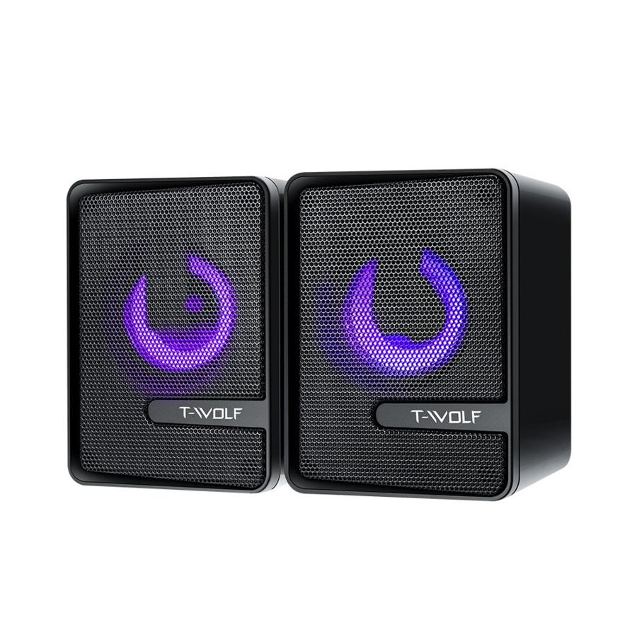 T-WOLF S3 speakers   2.0   6W   USB   3.5mm-2