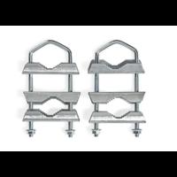 thumb-Balkonklemmen | U-vormige mastklem | 2 stuks-1