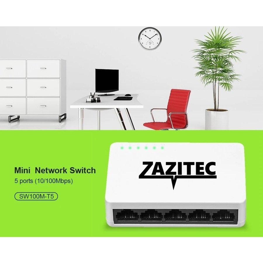 Zazitec 5-poorts netwerk switch-2