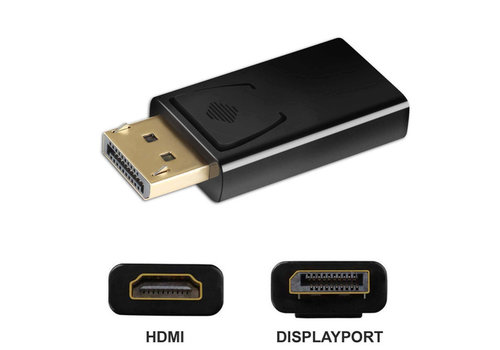 DisplayPort adapter Male - HDMI Female