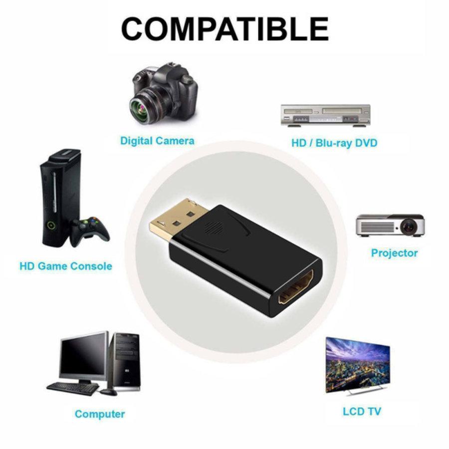 DisplayPort adapter Male - HDMI Female-2