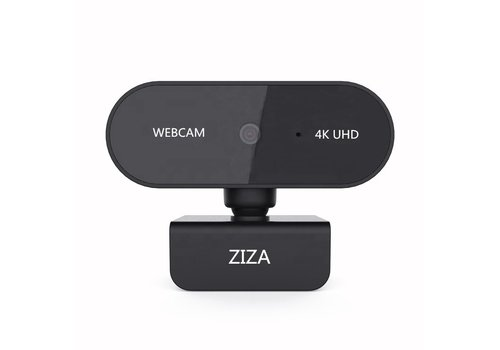 ZIZA Z4K webcam met microfoon | 4K Ultra HD | 3840 x 2160 | Autofocus | 8.29 MP