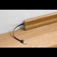 thumb-Platte internetkabel | CAT5E | 1.5m | zwart-2