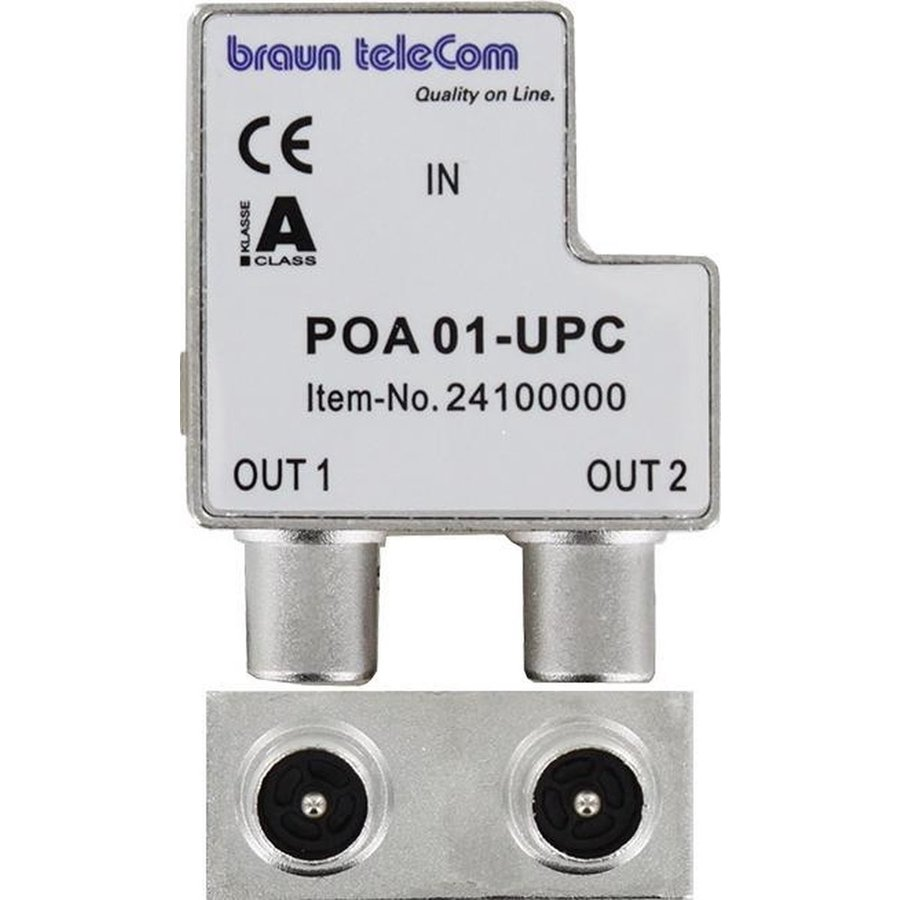 Braun Telecom Ziggo splitter POA 01-UPC-1