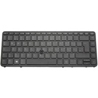 thumb-HP 736654-041 keyboard   QWERTZ (DE)   Trackpoint   LED Backlight-1