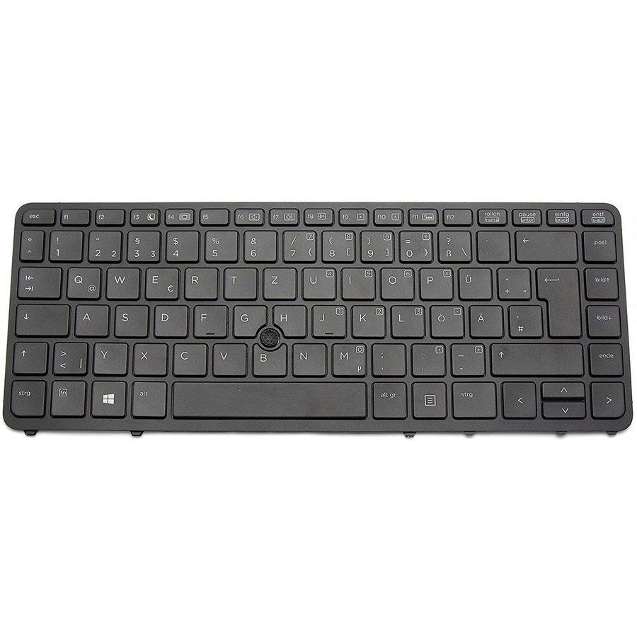 HP 736654-041 keyboard   QWERTZ (DE)   Trackpoint   LED Backlight-1