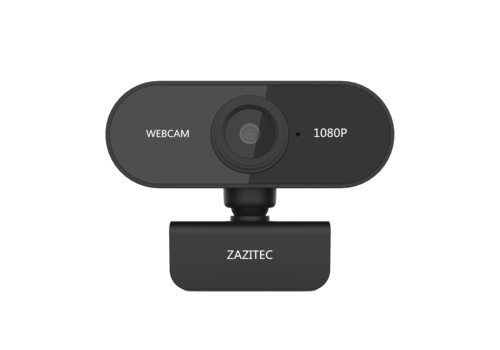 Zazitec Z10P webcam met microfoon | 1080P FHD | 2592 x 1944 | Autofocus | 5.04 MP