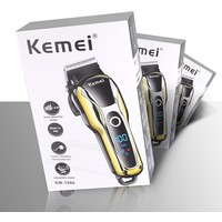 thumb-Kemei KM-1990 draadloze tondeuse + gratis neustrimmer-2