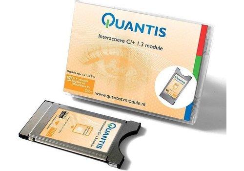 Quantis Interactieve CI+ 1.3  module - Geschikt voor Ziggo, Caiway, Delta en KabelNoord