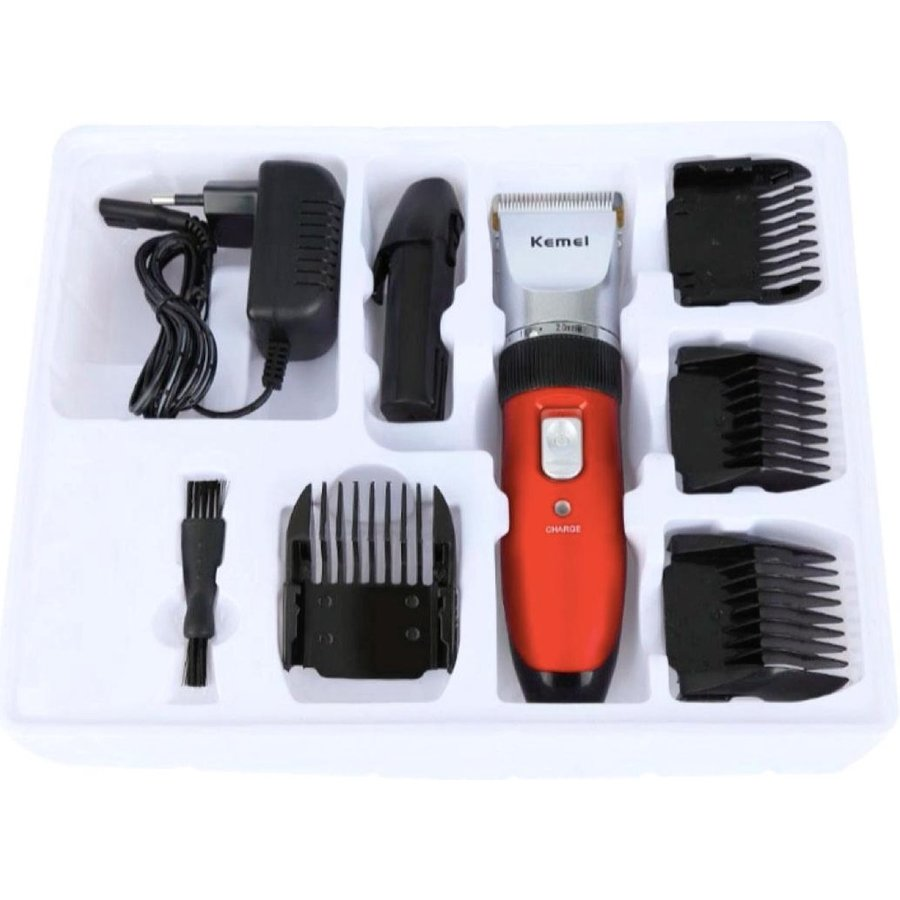 Kapster RF-3902  Professional Hair Clipper - tondeuse met extra batterij-4
