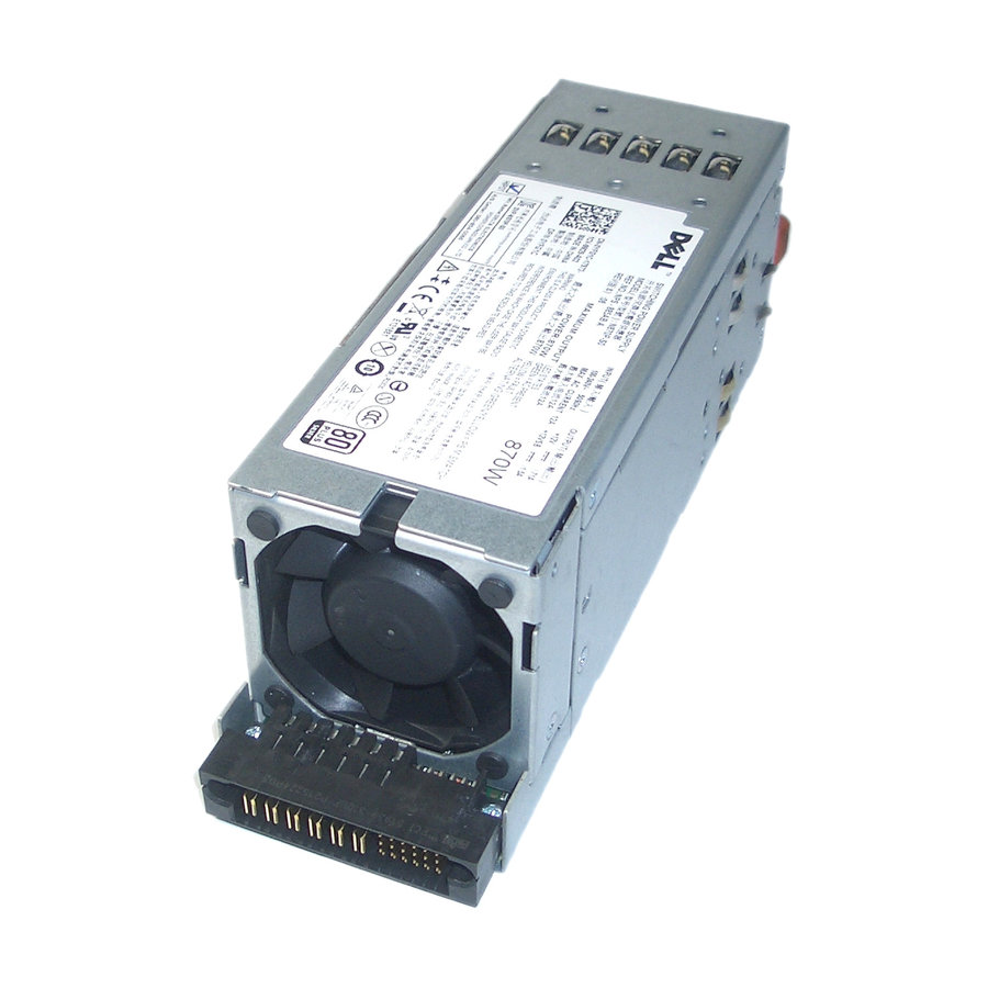 Dell 870W 80-Plus Silver Power Supply 0YFG1C-1