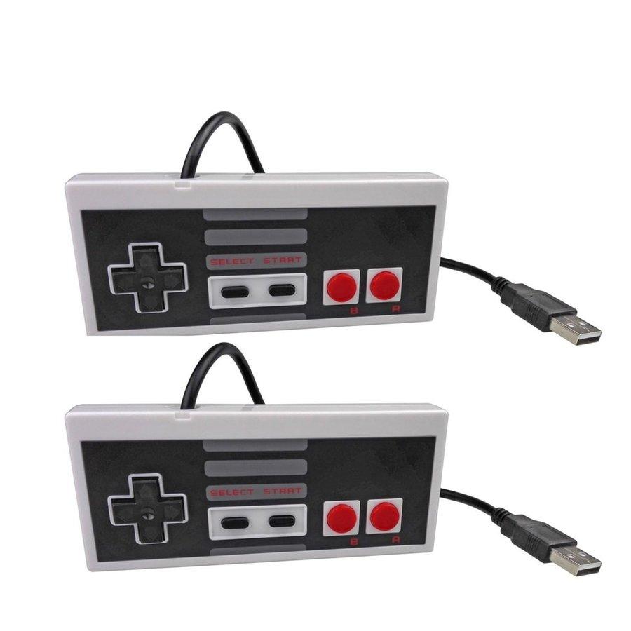 NES Gaming controller | USB | PC & MAC | 2 stuks-3