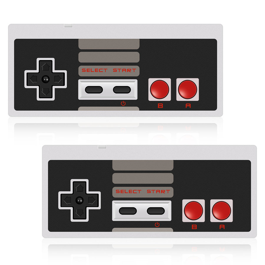 NES Gaming controller | USB | PC & MAC | 2 stuks-1