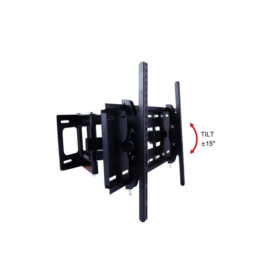 "Ziza D40 Rotate TV beugel | 40""-80"" (102-203 cm) | draaibaar & kantelbaar | zwart-2"