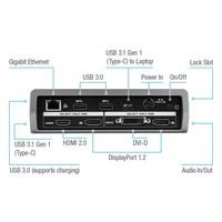 thumb-Targus USB-C universal DV1K-SV4K Docking Station-9