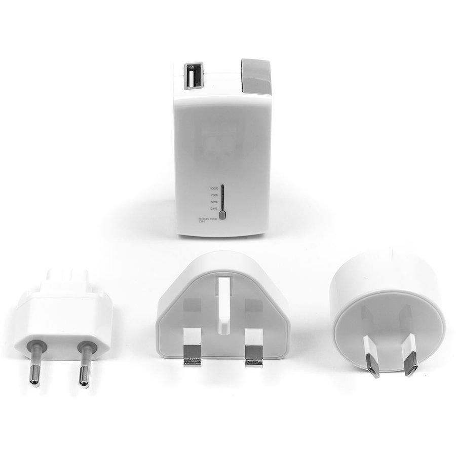 Targus 2100mAh, USB-A Powerbank - Wit-1