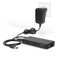 thumb-Targus Universal Docking Station | USB 3.0 | Single 2K or Dual HD Video | ACP115EUZ-6
