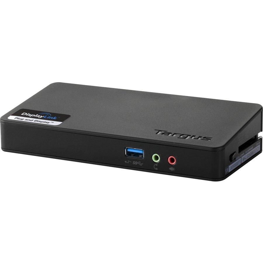Targus USB 3.0 SuperSpeed Docking Station (Single Video)-1