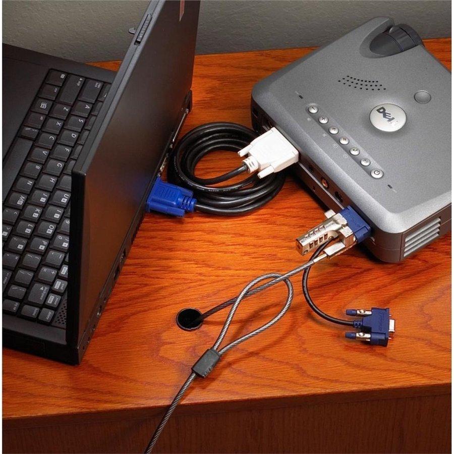 Targus Defcon VPLC | PA492E | Video Port Combination Lock-3