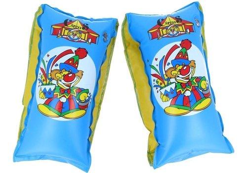 Bestway Zwemvleugels Circus Blauw 25 X 15 Cm