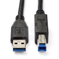 thumb-USB A naar B kabel   USB 3.0   Super Speed   1.0 meter-1