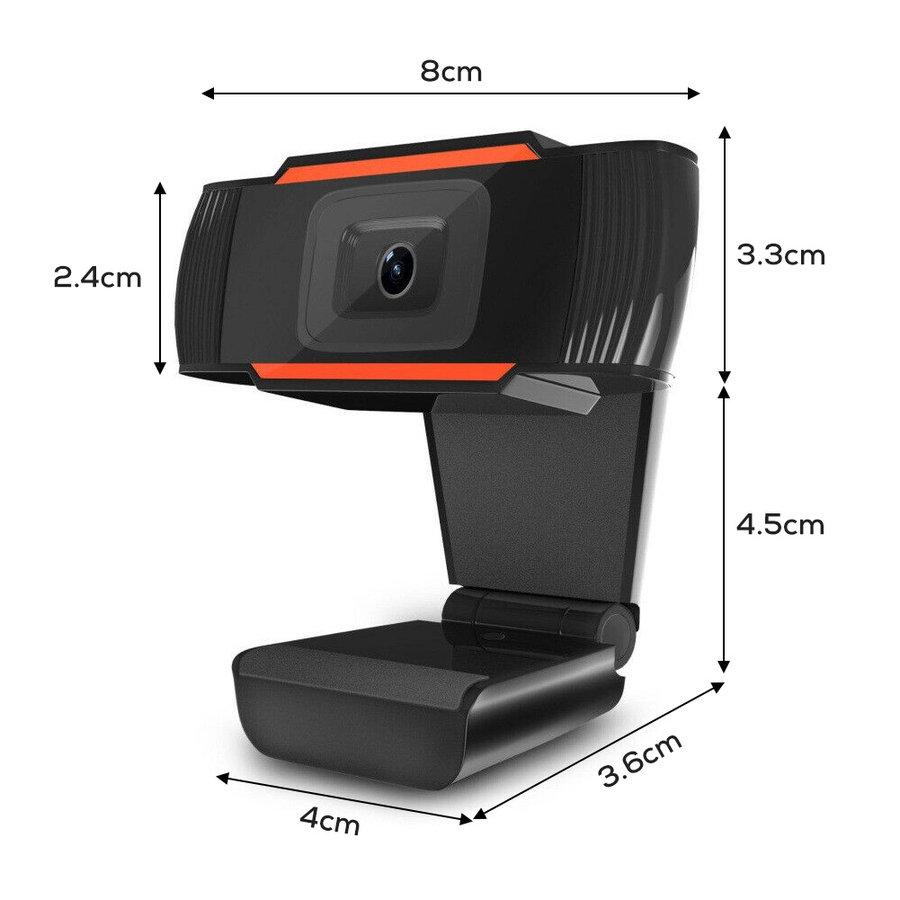 Ziza Z2M webcam met microfoon | 1080P FHD | 1920 x 1080 | 2.07 MP-4