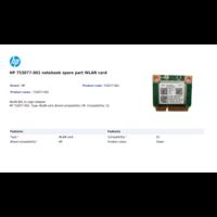 thumb-HP 753077-001 WLAN adapter  802.11 b/g/n | Wi-FI + Bluetooth 4.0-2