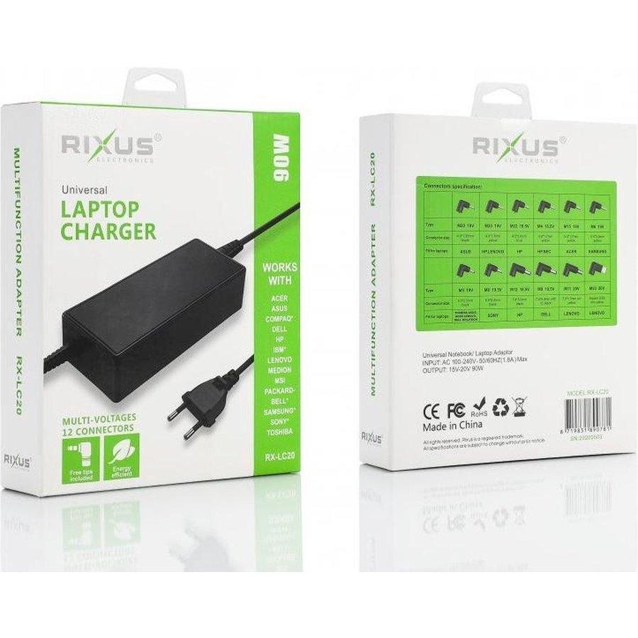 RIXUS Universal Laptop Charger-1