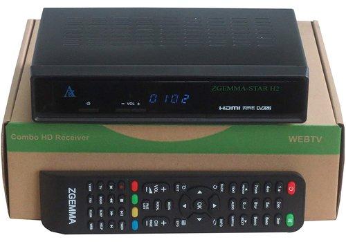 Zgemma Star H2   DVB-S2 + DVB-T2/C combo   Enigma2 Linux OS