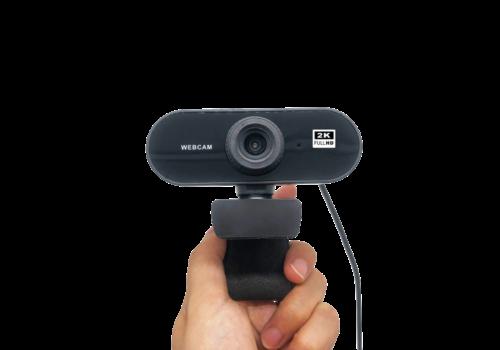 ZIZA Z2K webcam met microfoon | 2K Quad HD | 2560×1440