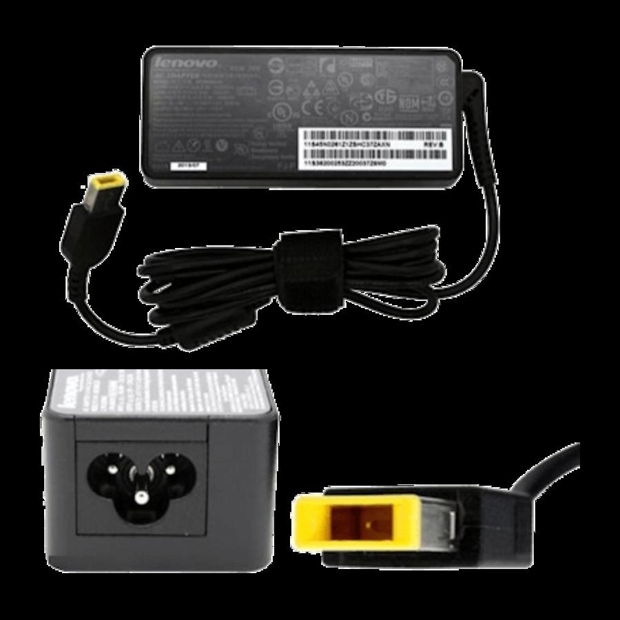 Lenovo adapter 90W round pin - met square verloop - 20V/4,5A-3