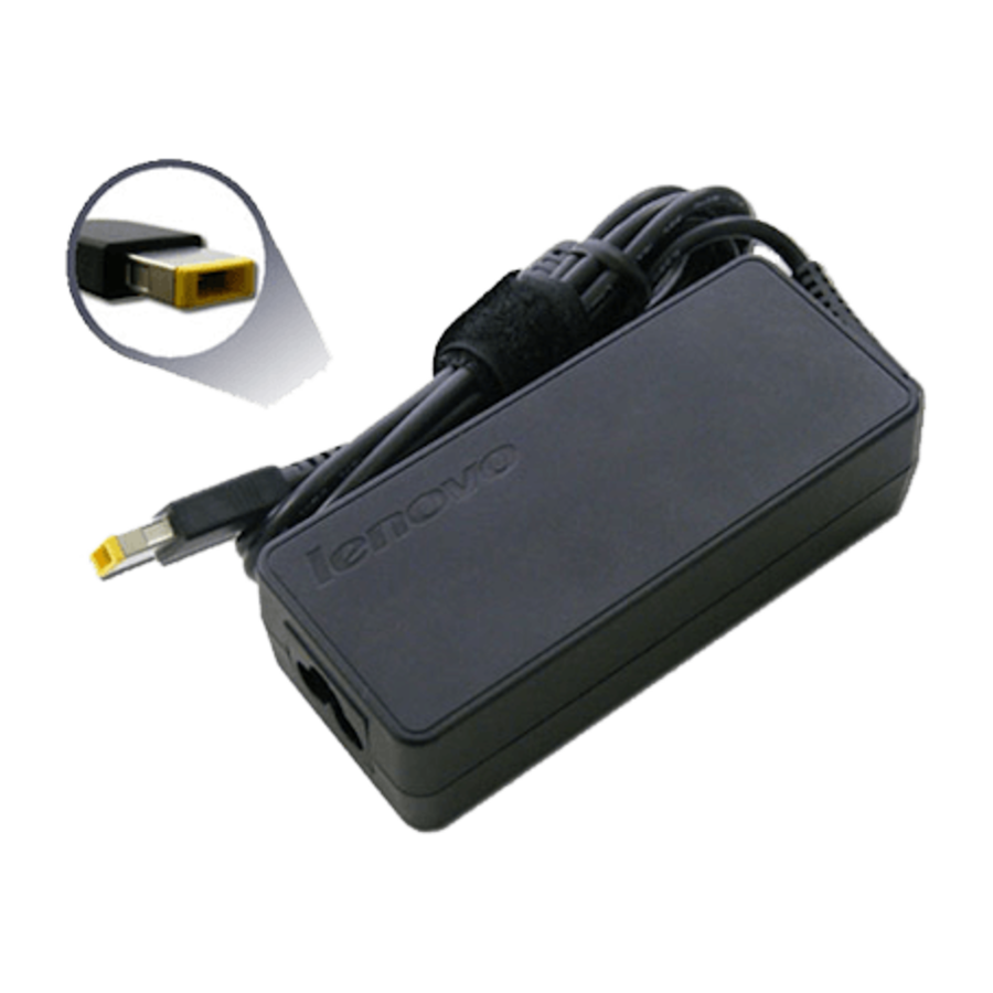 Lenovo adapter 90W round pin - met square verloop - 20V/4,5A-4