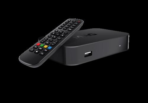 MAG 522w1 | IPTV box | Linux | 4K@60fps | HEVC | Amlogic S905X2 | Wifi