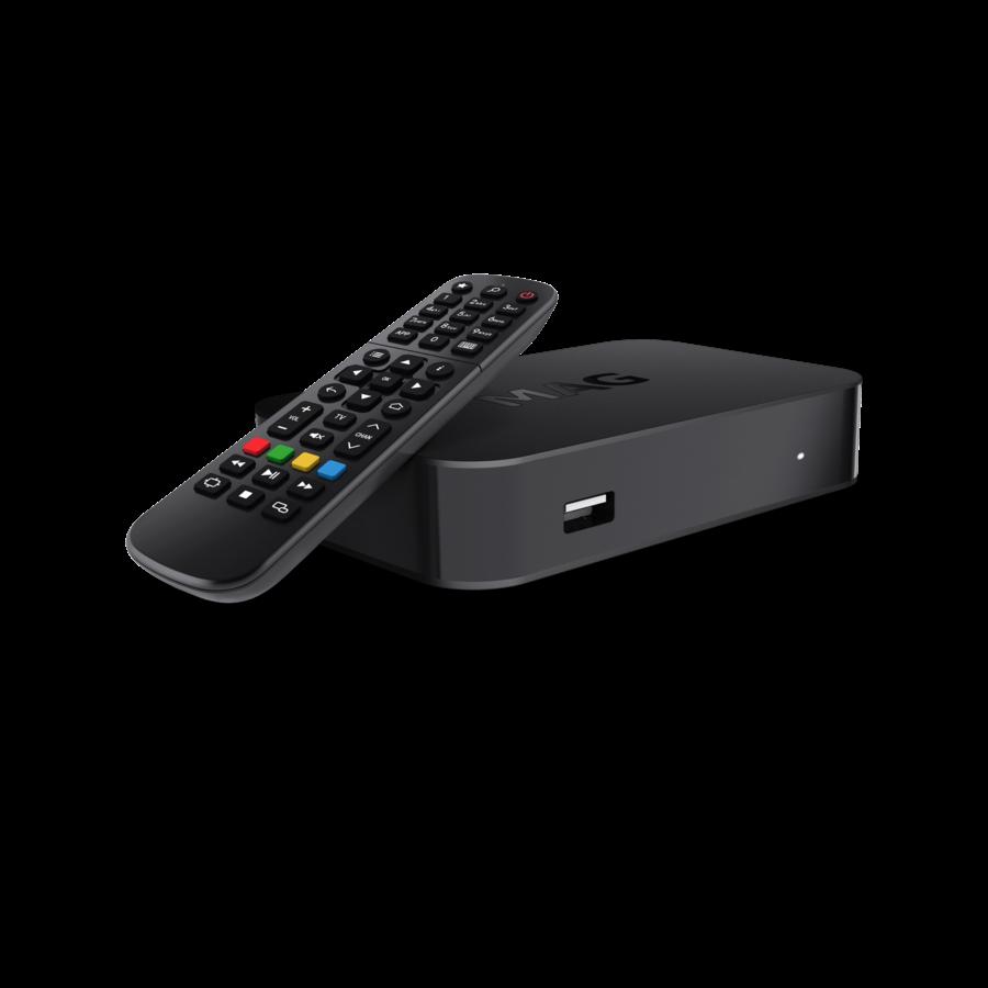 MAG 522w1 | IPTV box | Linux | 4K@60fps | HEVC | Amlogic S905X2 | Wifi-1
