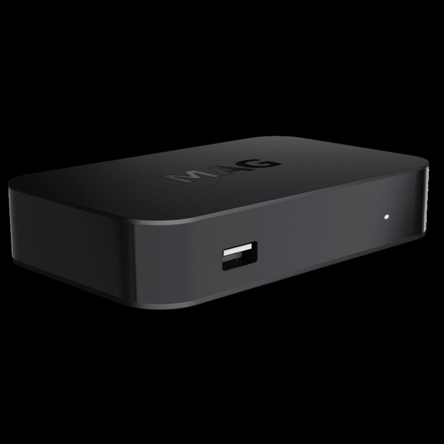MAG 522w1 | IPTV box | Linux | 4K@60fps | HEVC | Amlogic S905X2 | Wifi-2