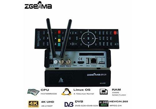 Zgemma H9.2S | 4K UHD | HEVC | SAT