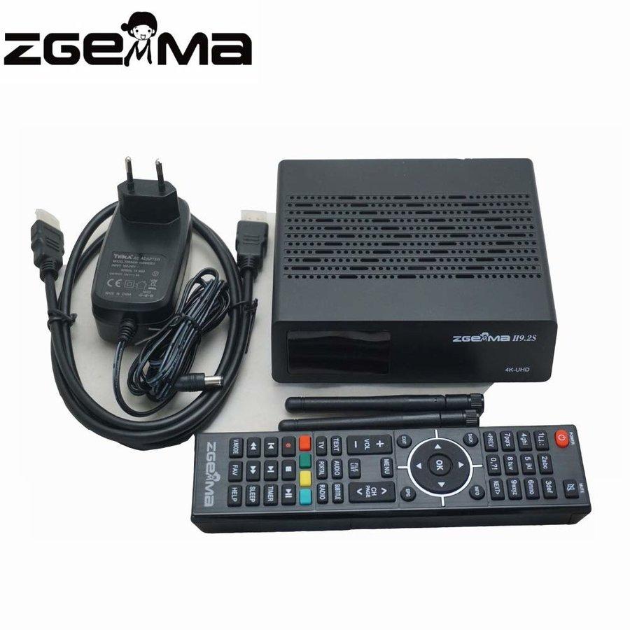 Zgemma H9.2S | 4K UHD | HEVC | SAT-3