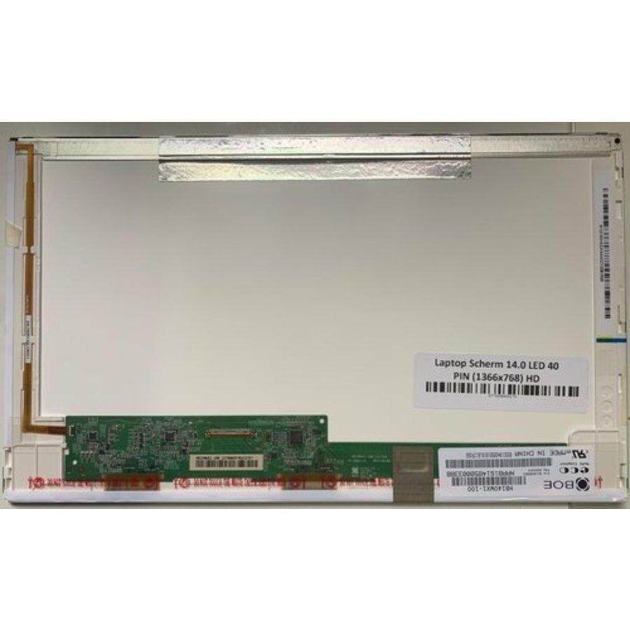 14.0 inch laptop scherm 1366x768 mat 40Pin - HB140WX1-400-2