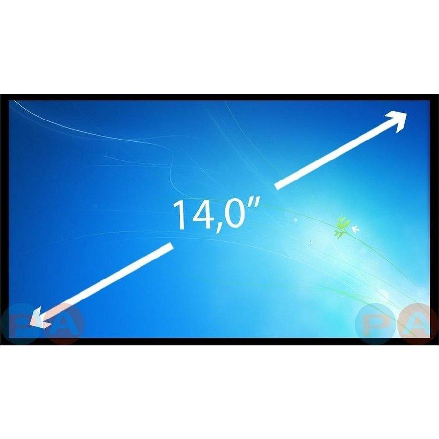 14.0 inch laptop scherm 1366x768 mat 40Pin - HB140WX1-400-1
