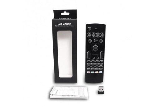 MX3 Air Mouse / Flymouse met backlight toetsenbord