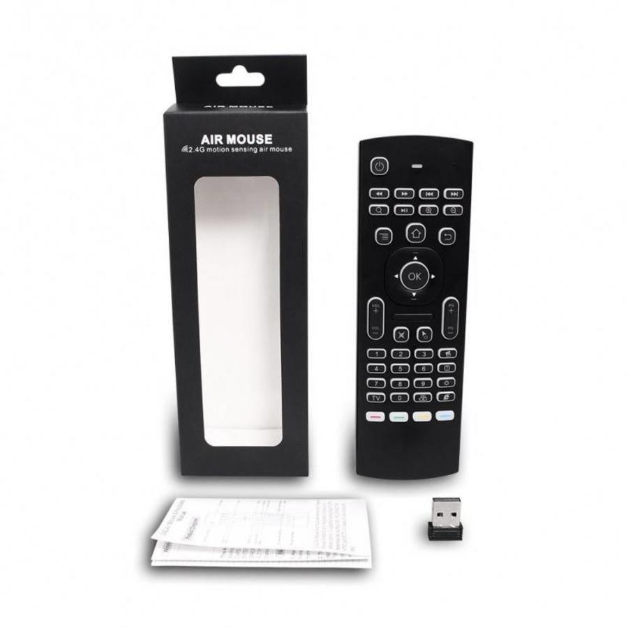 MX3 Air Mouse / Flymouse met backlight toetsenbord-1
